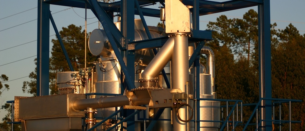 Fluidized bed gasifier plants - HoSt Bioenergy