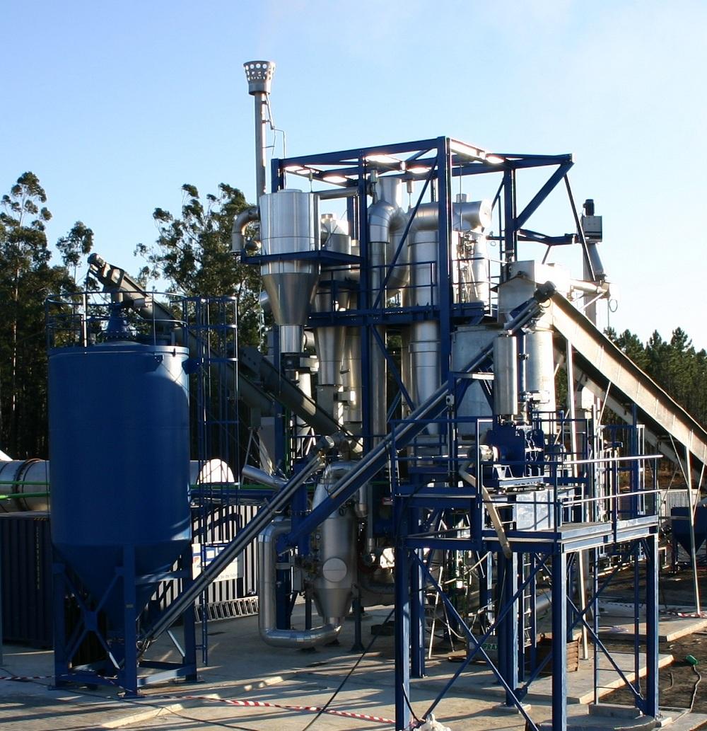 Fluidized Bed Gasifier Plants Host Bioenergy