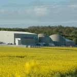 Food waste biogas plant