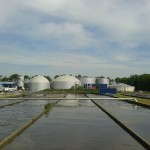 Industrial biogas plants
