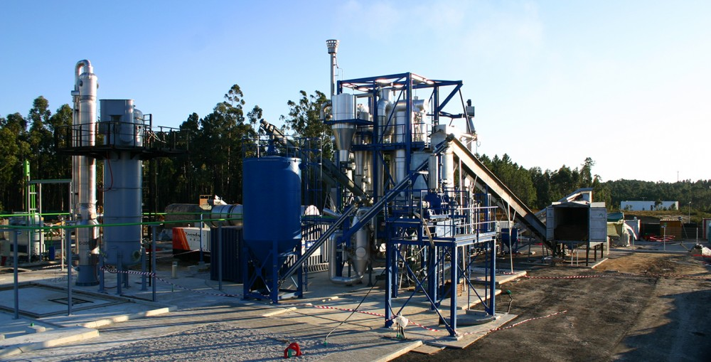 Circulating Fluidised Bed Gasifier Portugal Host
