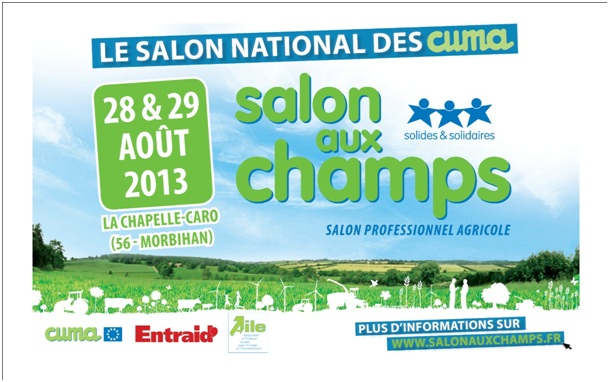 Host presenteert zich op tweetal beurzen in frankrijk for Salon aux champs