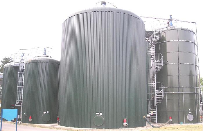 Biogasinstallatie BIR