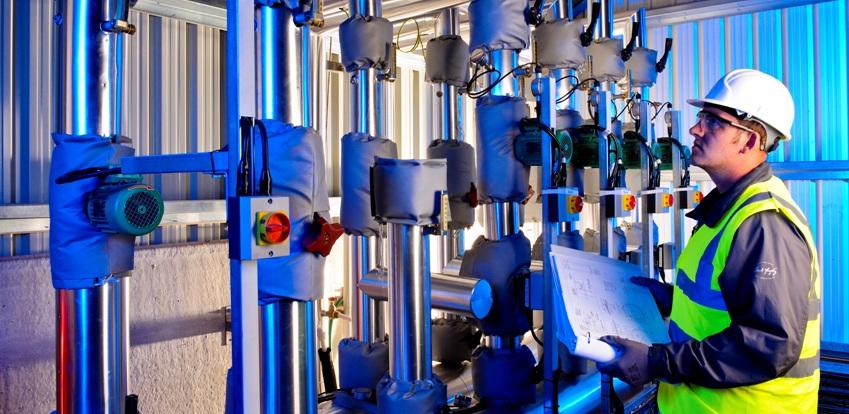 Service voor biogasinstallaties