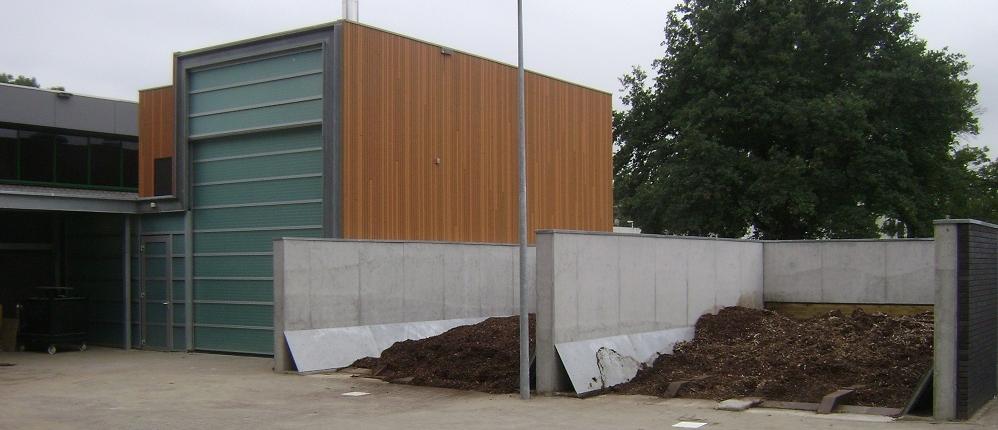 Opslag en gebouw Ottenbad