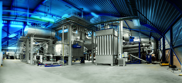 Biomass combustion CHP