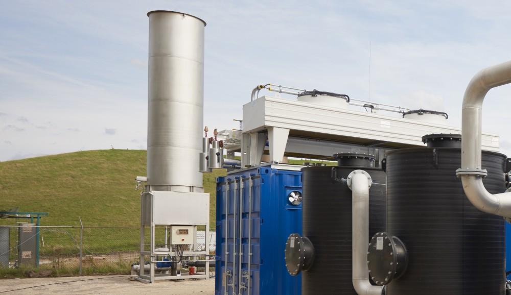 Biogas flaring