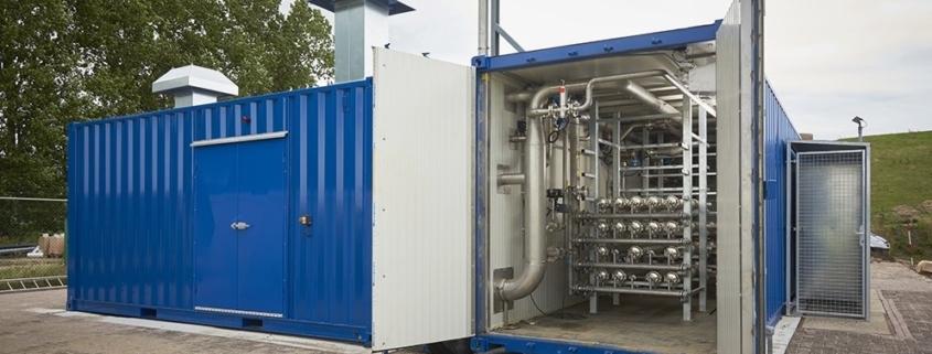Biogas Upgrading container