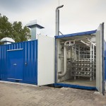 Membranes container
