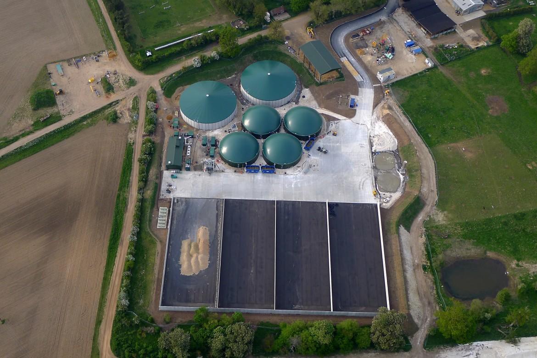 Farm scale biogas plant - Euston,UK -HoSt