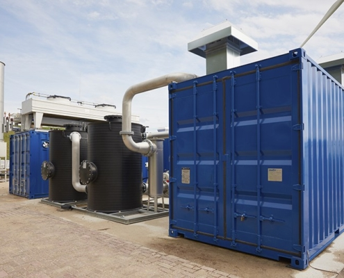 Biogas upgrading by HoSt
