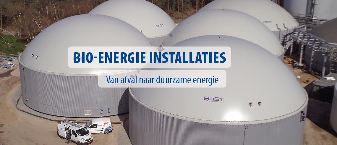 Bio-energie installaties
