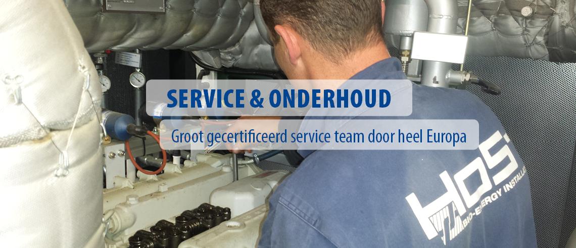Service & onderhoud