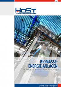 Biomasse energie-anlagen DE