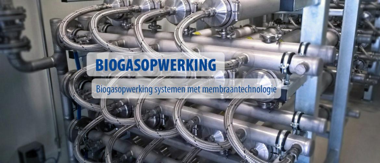 Biogasopwerking