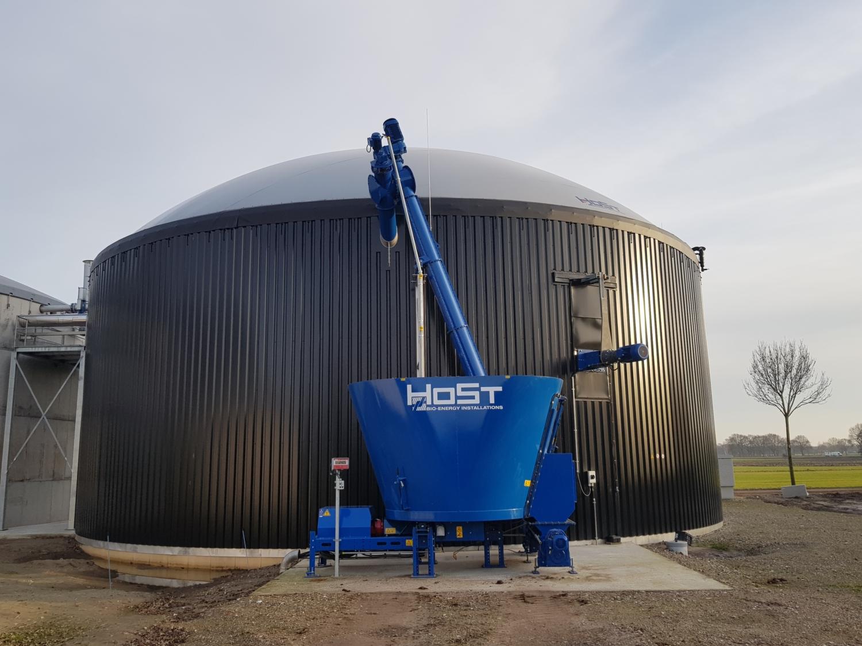Microferm - 100% Manure Digestion   HoSt Bioenergy Systems