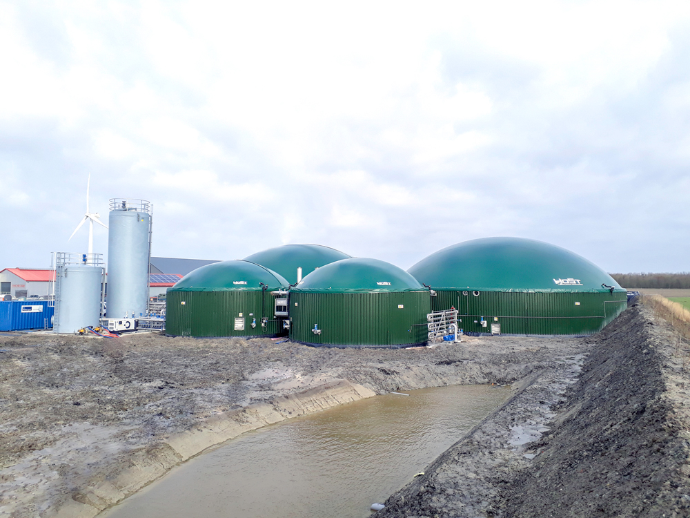 Biogas Plant Marrum successfully Supplies first Biomethane
