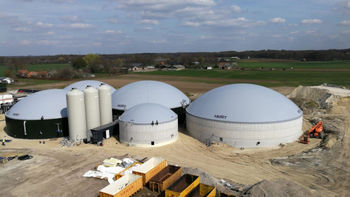 Project Reference Agricultural Biogas Plant: Alphen-Chaam, the