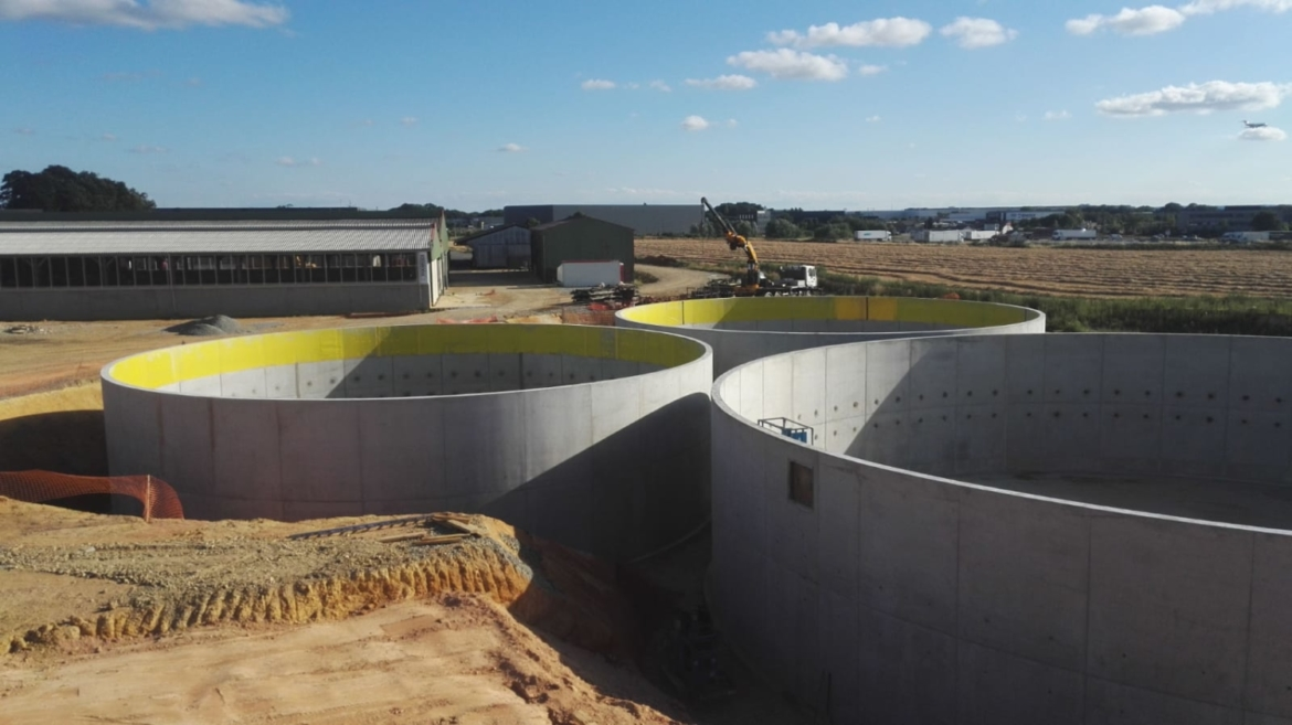 HoSt constructing innovative large-scale agricultural biomethane-to